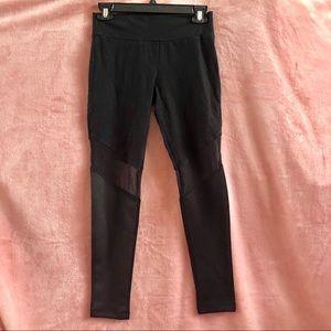 Black mesh tillys Leggings